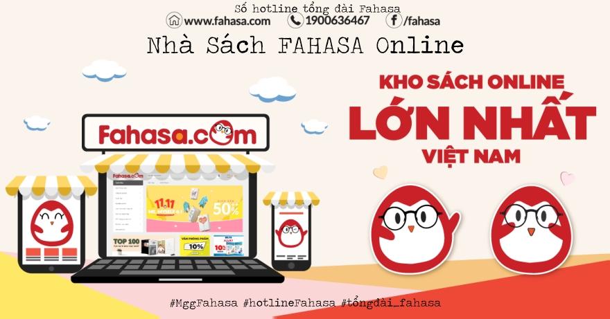 Hotline Fahasa, số điện thoại tổng đài Fahasa Online.